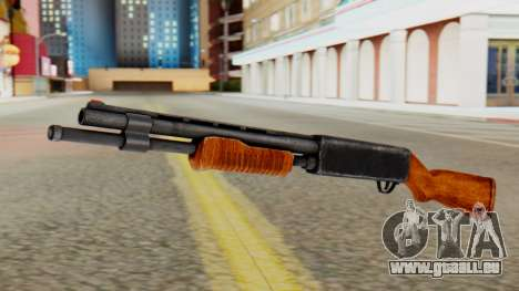 Xshotgun Pump action shotgun für GTA San Andreas