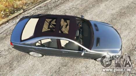 GTA 5 Mercedes-Benz S500 W221 v0.2 [Alpha] Rückansicht
