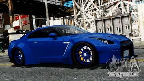 Nissan GT-R R35 Liberty Walk pour GTA 4 Vue arrière