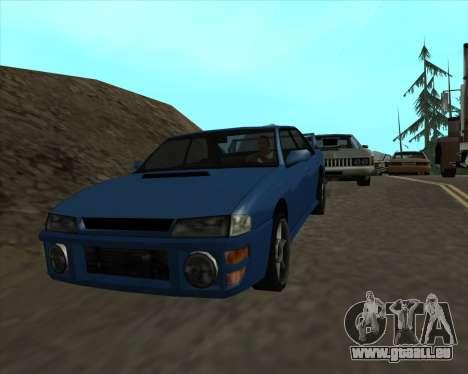Sultan v1.0 für GTA San Andreas rechten Ansicht