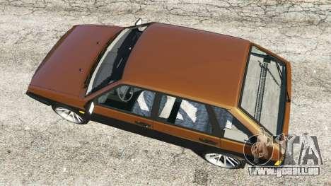 GTA 5 VAZ-21093i vue arrière