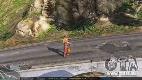 GTA 5 La barre d'état v. 0.1 troisième capture d'écran