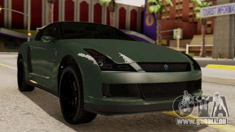 GTA 5 Annis Elegy RH8 SA Style pour GTA San Andreas