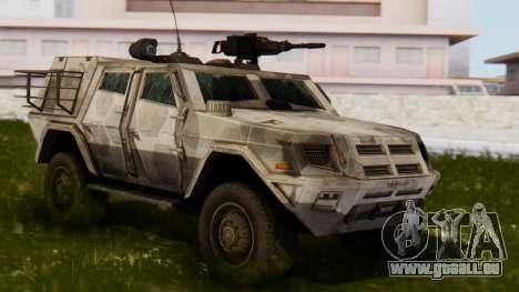 BAE Systems JLTV für GTA San Andreas