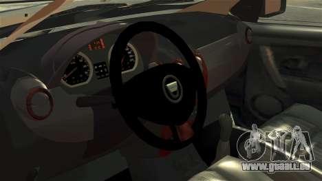 Dacia Logan MCV Stepway 2014 pour GTA 4 Vue arrière
