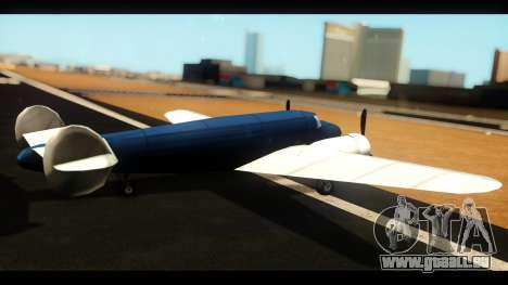 Bomber v1.0 für GTA San Andreas linke Ansicht