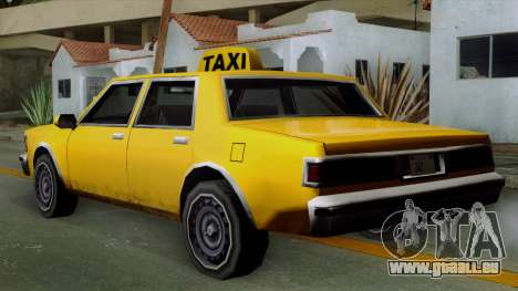 Classic Taxi Los Santos für GTA San Andreas linke Ansicht