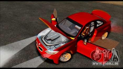 BMW 235i F22 pour GTA San Andreas vue arrière