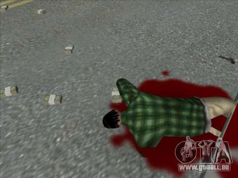Weapons on the Ground für GTA San Andreas her Screenshot