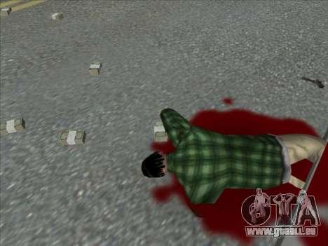 Weapons on the Ground pour GTA San Andreas quatrième écran