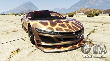 Dinka Jester (Racecar) Cheetah pour GTA 5