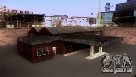 New LSPD garage für GTA San Andreas zweiten Screenshot