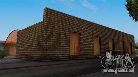 La gare de San Fierro Final pour GTA San Andreas deuxième écran