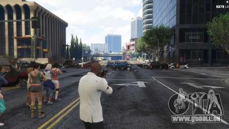 GTA 5 Bodyguard Menu 1.7 quatrième capture d'écran