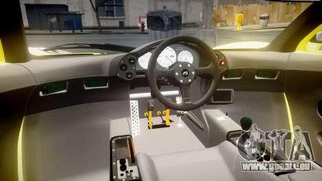 McLaren F1 1993 [EPM] Harrods pour GTA 4 Vue arrière