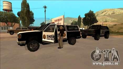 DLC Big Cop and All Previous DLC pour GTA San Andreas quatrième écran