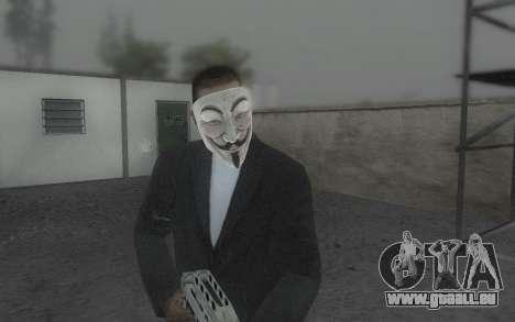 DayZ Mask pour GTA San Andreas troisième écran