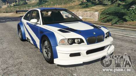 BMW M3 GTR E46 Most Wanted v1.3 für GTA 5