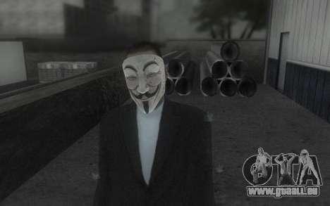 DayZ Mask pour GTA San Andreas