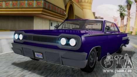 GTA 5 Declasse Voodoo IVF pour GTA San Andreas