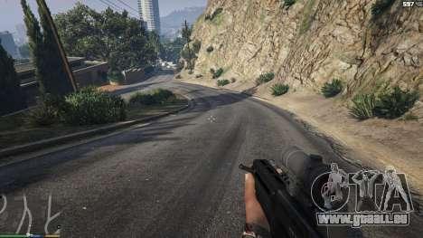 GTA 5 Carabine Bulldog quatrième capture d'écran