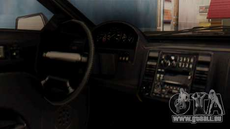 GTA 5 Cheval Fugitive IVF pour GTA San Andreas vue de droite