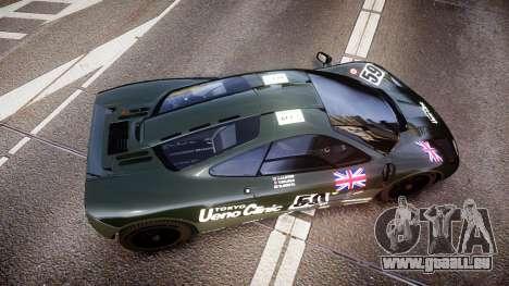 McLaren F1 1993 [EPM] Ueno Clinic pour GTA 4 est un droit