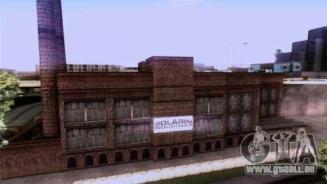 HQ Textures San Fierro Solarin Industries für GTA San Andreas