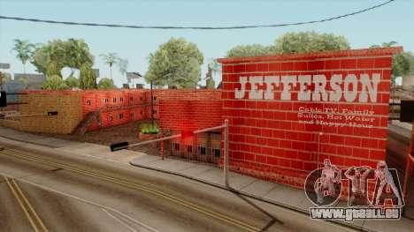 Motel Jefferson für GTA San Andreas zweiten Screenshot