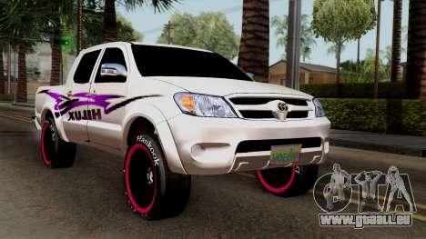 Toyota Hilux 2014 für GTA San Andreas