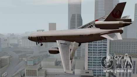 DC-10-30 Japan Airlines pour GTA San Andreas laissé vue