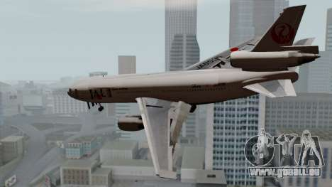 DC-10-30 Japan Airlines für GTA San Andreas linke Ansicht