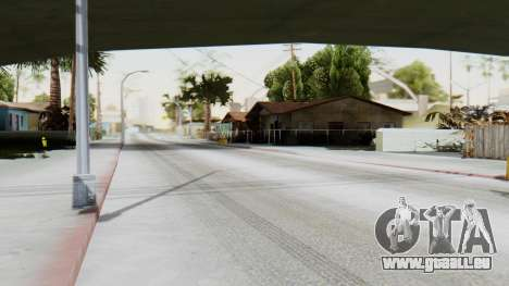 Winter Grove Street für GTA San Andreas zweiten Screenshot