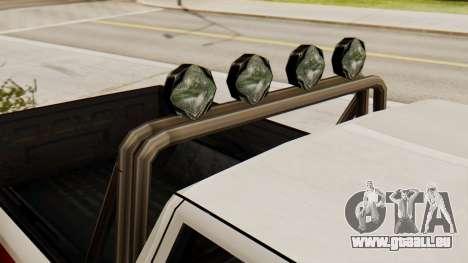 Chevrolet Silverado SA Style pour GTA San Andreas sur la vue arrière gauche
