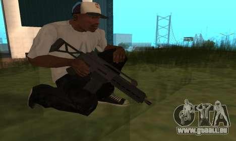 GTA 5 Special Carbine für GTA San Andreas
