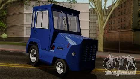 Clark CT-50D Tug pour GTA San Andreas