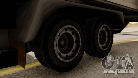 Artict2 Coal 1.0 pour GTA San Andreas sur la vue arrière gauche