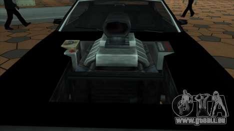 Muscle-Clover [BETA V.1] für GTA San Andreas zurück linke Ansicht