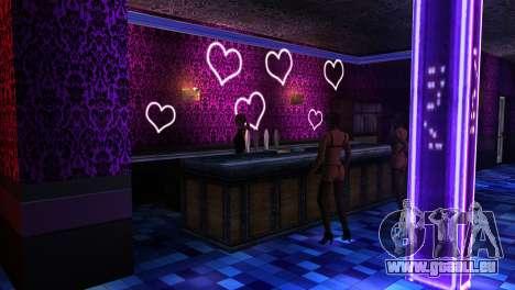 Retextured Innenraum strip-clubs für GTA San Andreas zweiten Screenshot