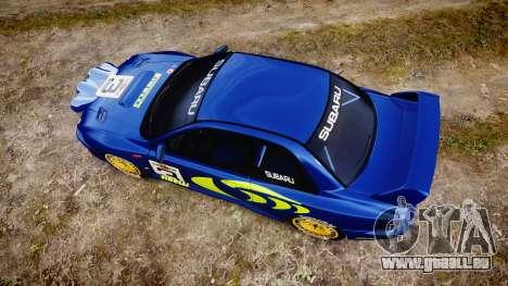 Subaru Impreza WRC 1998 World Rally pour GTA 4 est un droit