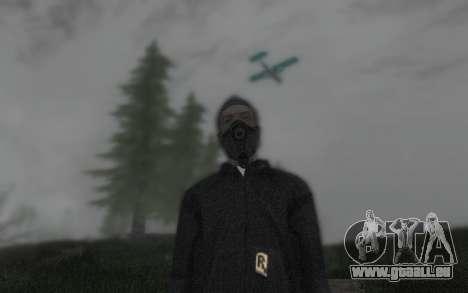 GTA5 Gasmask für GTA San Andreas her Screenshot