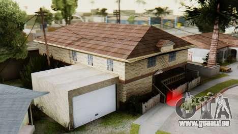 Le nouvel intérieur de la maison de CJ pour GTA San Andreas deuxième écran