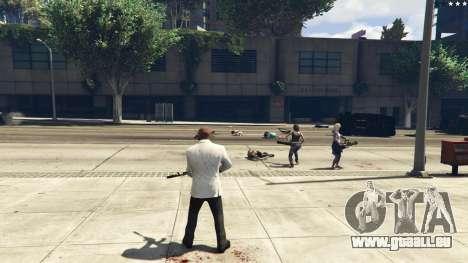 GTA 5 Bodyguard Menu 1.7 zehnte Screenshot
