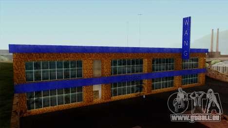 Die Wang Cars Showroom für GTA San Andreas