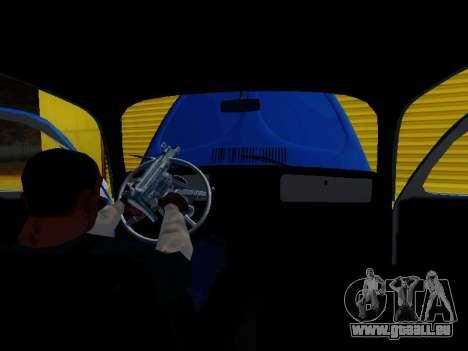 Volkswagen Beetle 1975 Jeans Édition Personnalis pour GTA San Andreas laissé vue