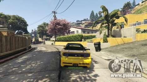 GTA 5 Semi-Realistic Vehicle Physics V 1.6 zweite Screenshot