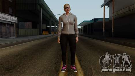 GTA 5 Online Female02 für GTA San Andreas zweiten Screenshot