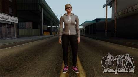 GTA 5 Online Female02 pour GTA San Andreas deuxième écran
