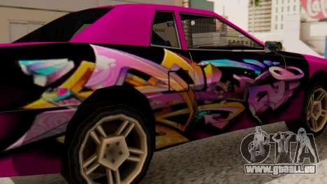 Vinyl für Elegy - Graffiti für GTA San Andreas zurück linke Ansicht