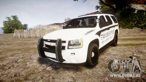 Chevrolet Tahoe 2013 New Alderney Sheriff [ELS] pour GTA 4